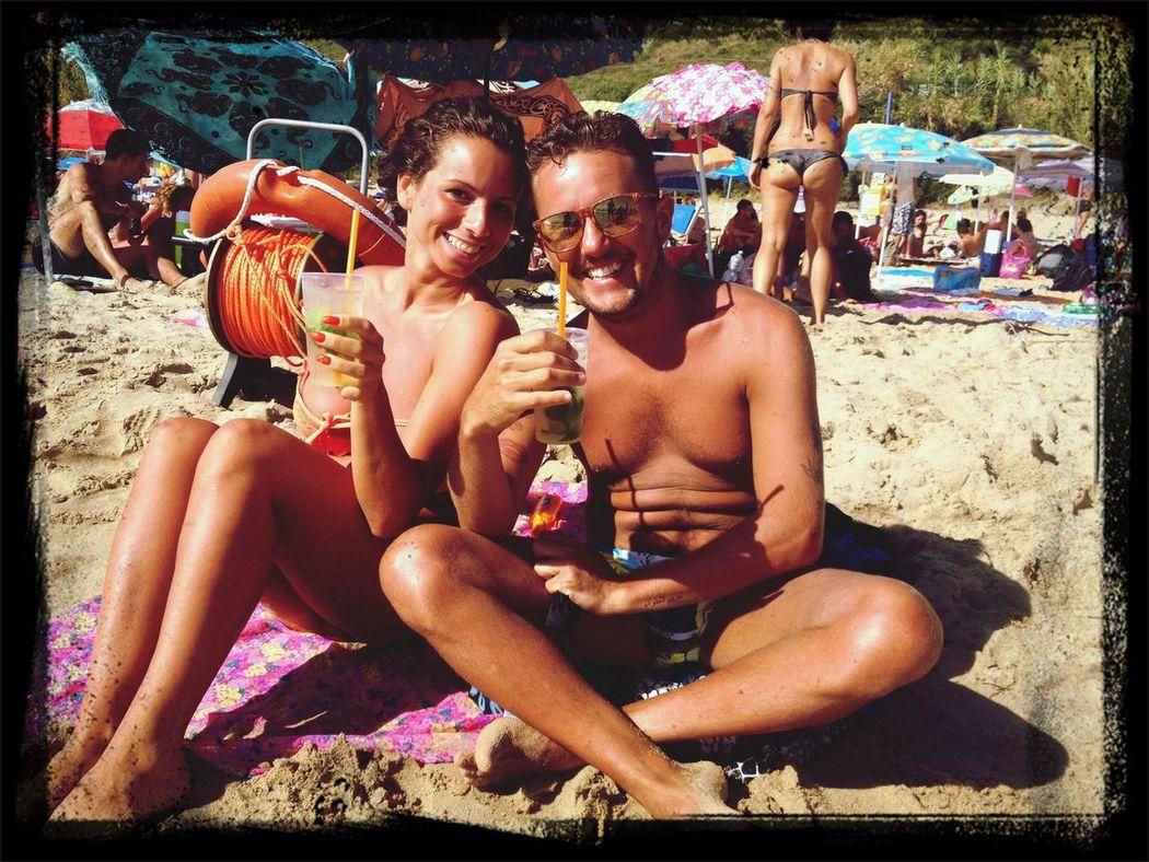 Cocktails Sun ☀ Beach Drinking