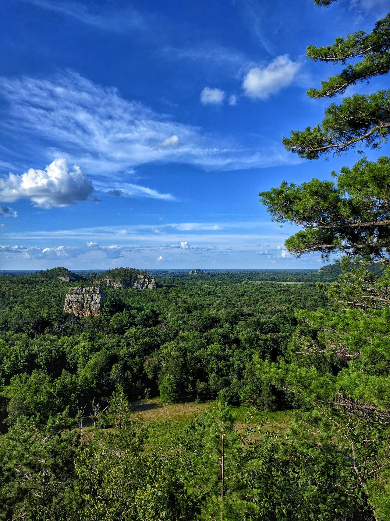 Bluffs Camping Forest Wisconsin Woods Hike Forests Hilltop Mesa Vista People And Places