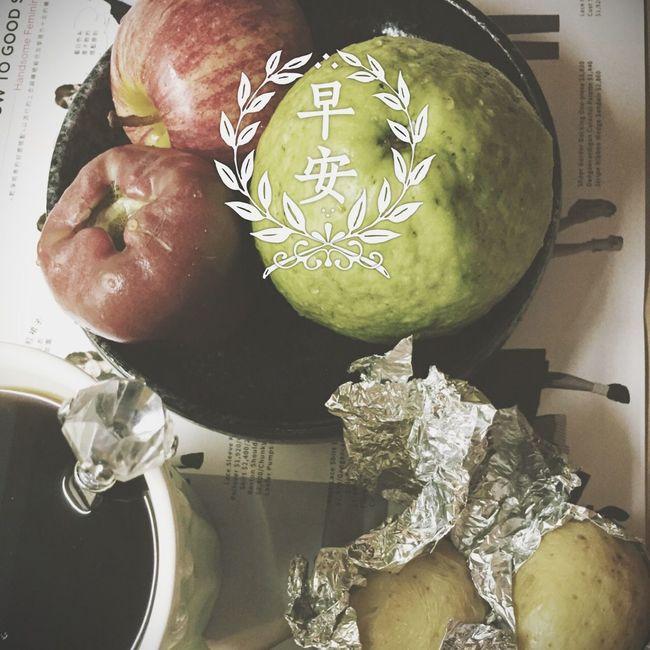 Goodmorning Taiwan Fruit Breakfast Potato Healthylife Diet Healthy Food