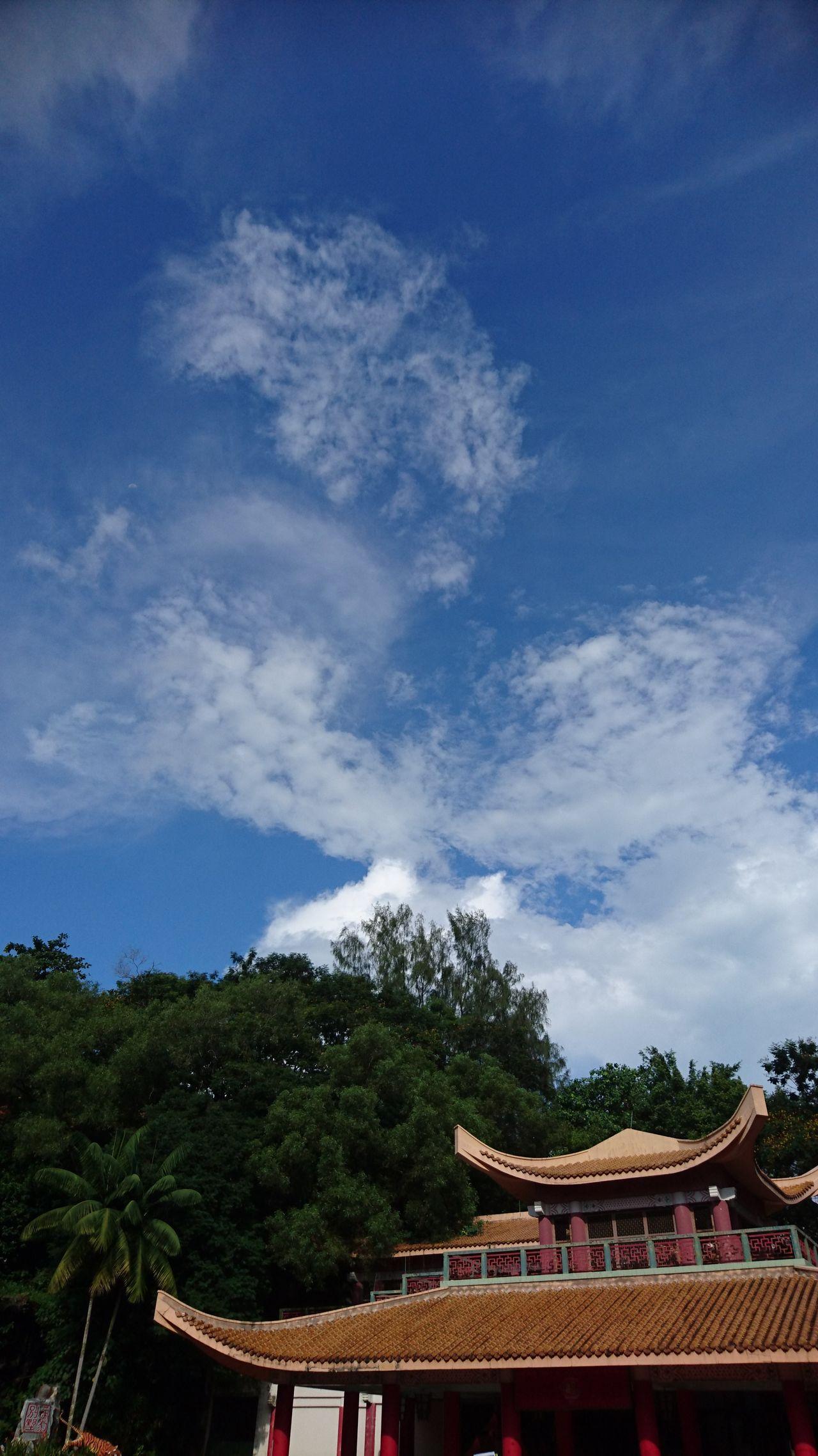 Hawparvilla Singapore Bright Day Cloudy Trees Randomshot