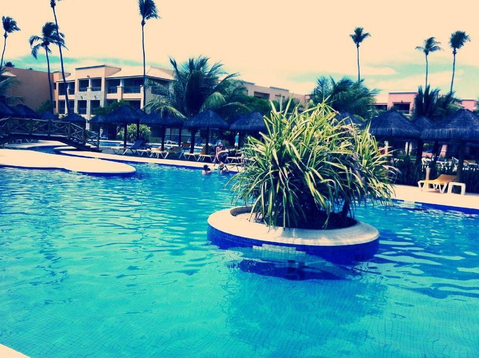 Outra piscina do resort!
