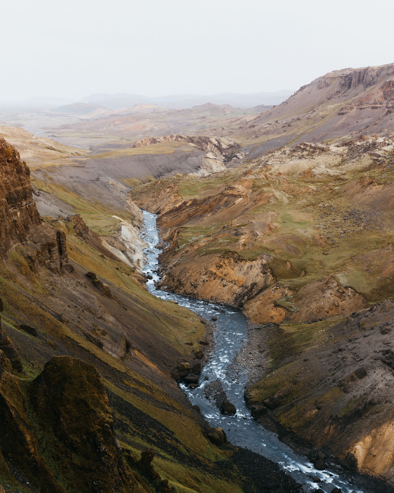 The other side of Haifoss, Iceland // Landscape Adventure Club Showcase July Mountains River Sunrise Háifoss Eyeemphoto