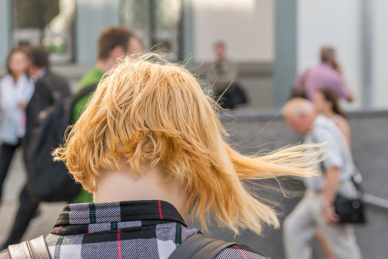 Blond Hair Close-up Day Focus On Foreground Headshot Incidental People Leisure Activity Lifestyles Medium Group Of People Men Outdoors People Real People Rear View Women