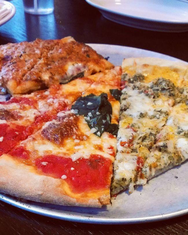 Food Porn Pizza Dinner New York