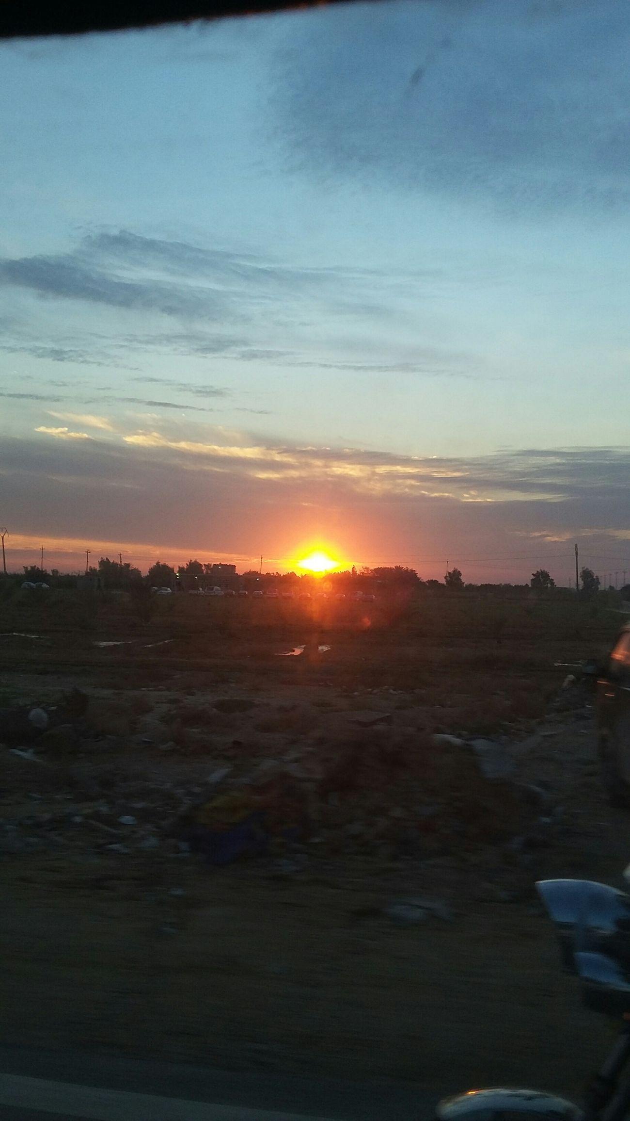 Human Vs Nature Sunset Clean Shot