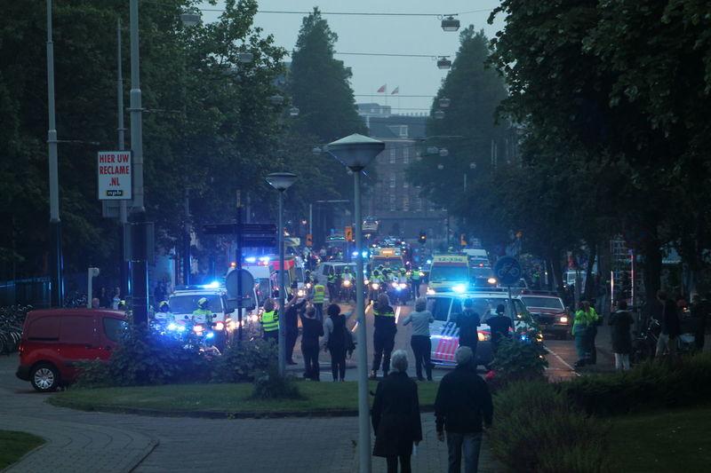Amsterdam, Netherlands Artis  Police At Work