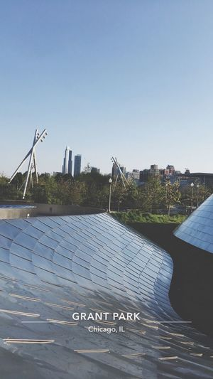 Grant Park Chicago Downtown Silver  Teepee Tipi Chicago Architecture Art Chicago Art EyeEm Selects
