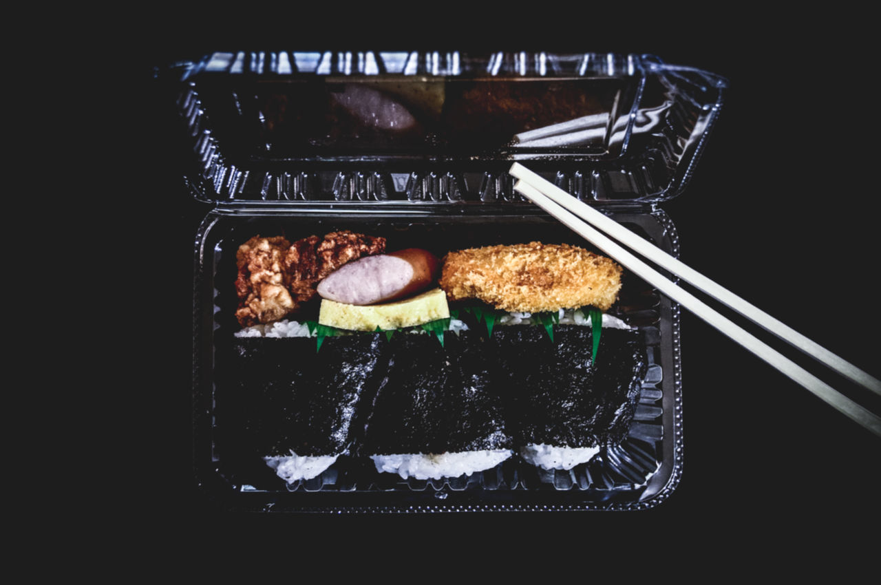 Beautiful stock photos of japan, Chopsticks, Directly Above, Food, Food And Drink