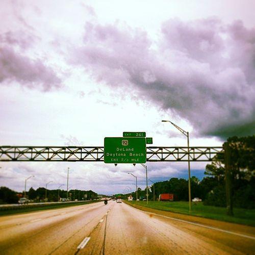 And then comes Daytonabeach Charabiehfamilyroadtrip I95 Highway