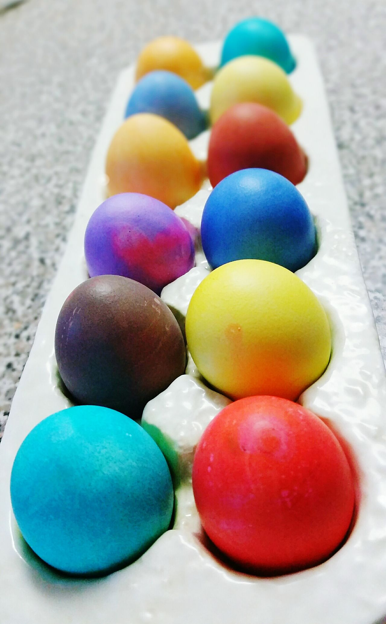 Happy Easter! Easter Eggs Beautiful Colors Rainbow Fun Vibrant Bright Easter Ready