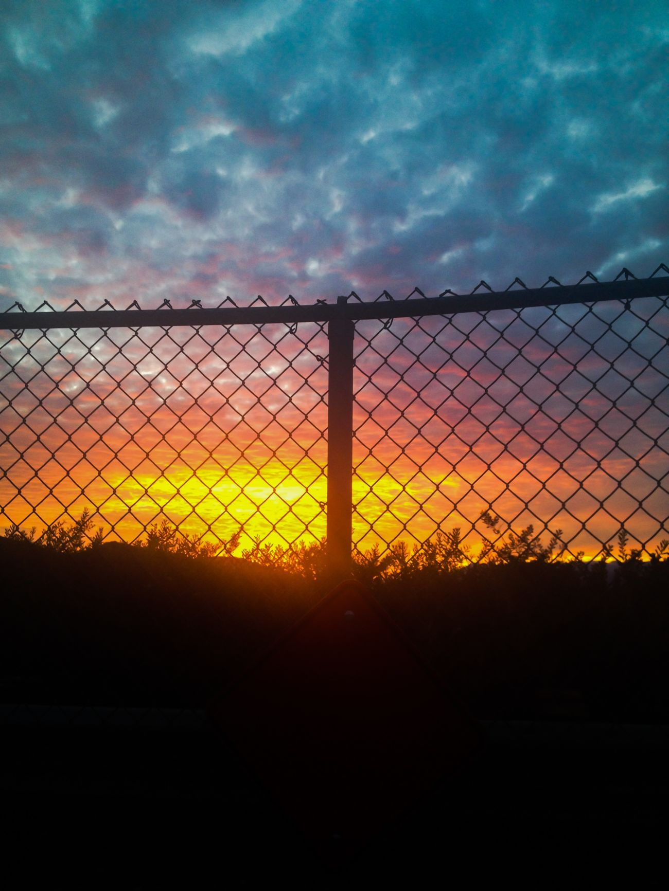 California Dreaming EyeEm Nature Lover Landscape_Collection Fence Sky Clouds And Sky Sunset Sunset Silhouettes My View Eye4photography  beauty beyond 💫💫💫