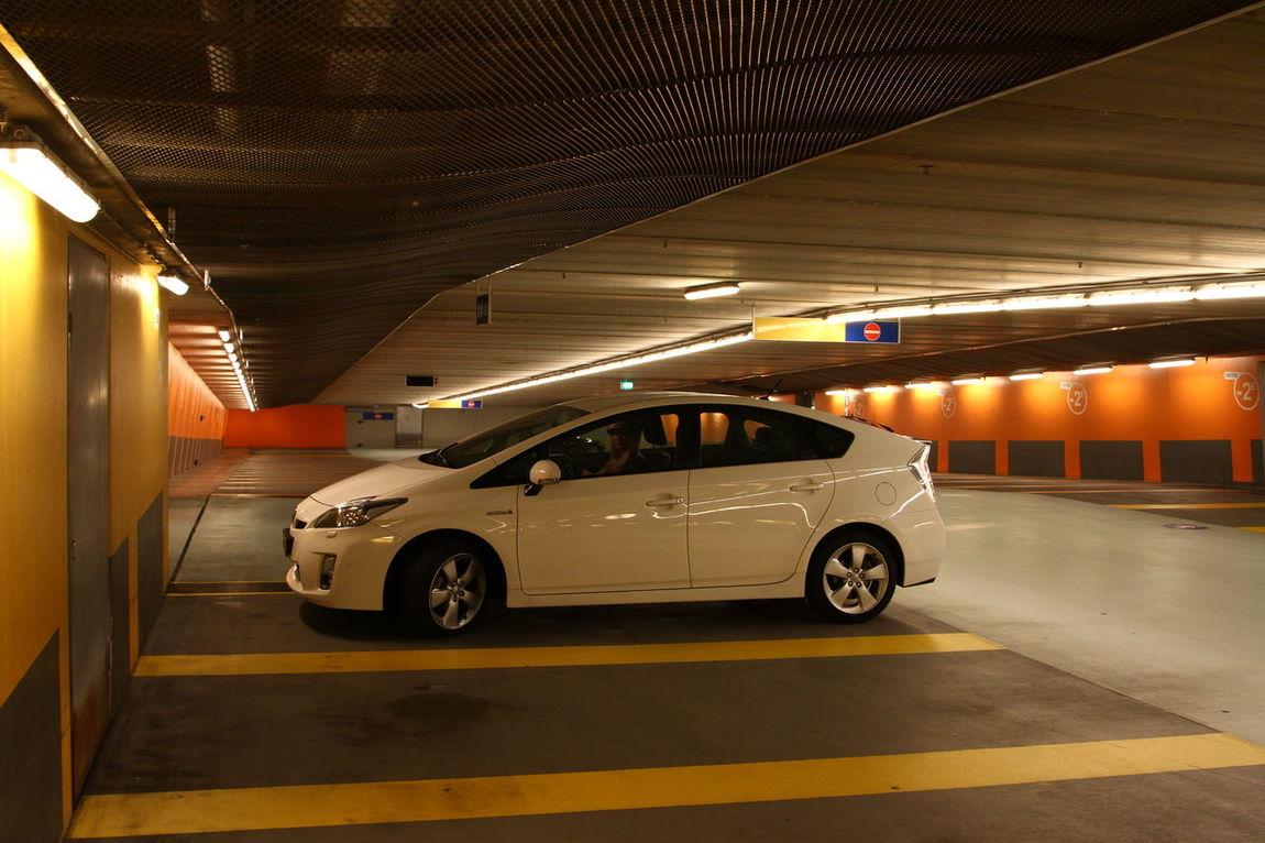 Parking Parking Garage Parking Lot Parkinggarage Toyota Prius Prius Hybrid Architecture Architecture_collection Transportation Transport
