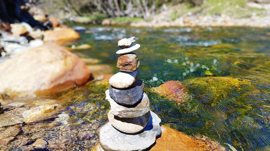Ushuaïa Ushuaia Argentina Ushuaia Tierradelfuego EyeEm Selects Rock - Object No People Stack Balance Day Outdoors Nature Beauty In Nature Close-up Be. Ready. EyeEmNewHere