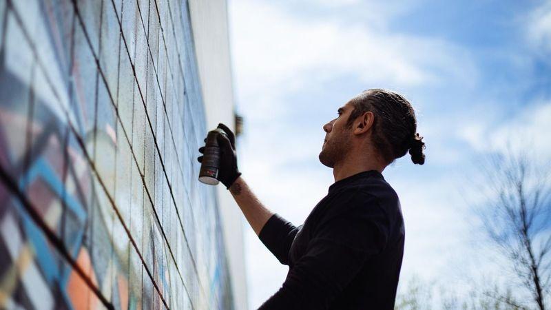 Toronto Train Tracks Backalley Graffiti crazyapes Crazyapes Nask
