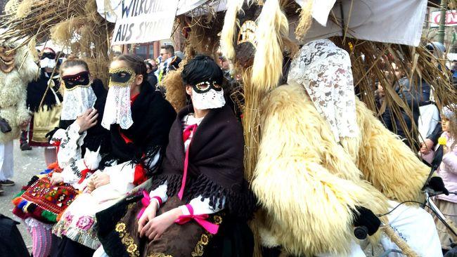 Colors Of Carnival Mohács Busó Masks Sokaclányok