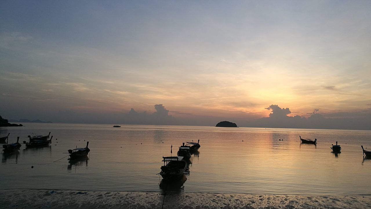 EyeEm Selects Sunrise Landscape Water Sea Beach Beauty In Nature Islands Koh Lipe Thailand Perspectives On Nature