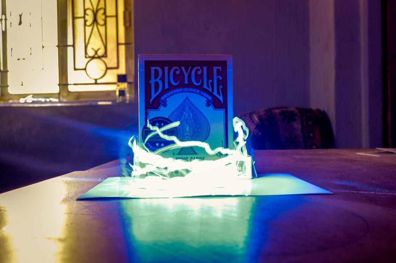 Chance Encounters No People Indoors  Illuminated Close-up Night Indoors  Indoors  Light