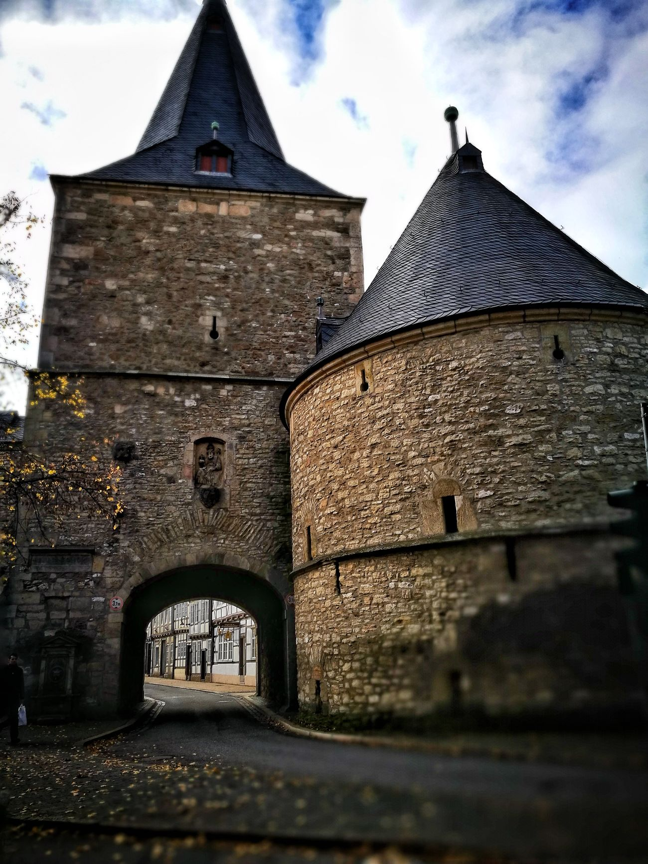 Architecture Built Structure Building Exterior Religion Sky Place Of Worship No People Outdoors Day Goslar