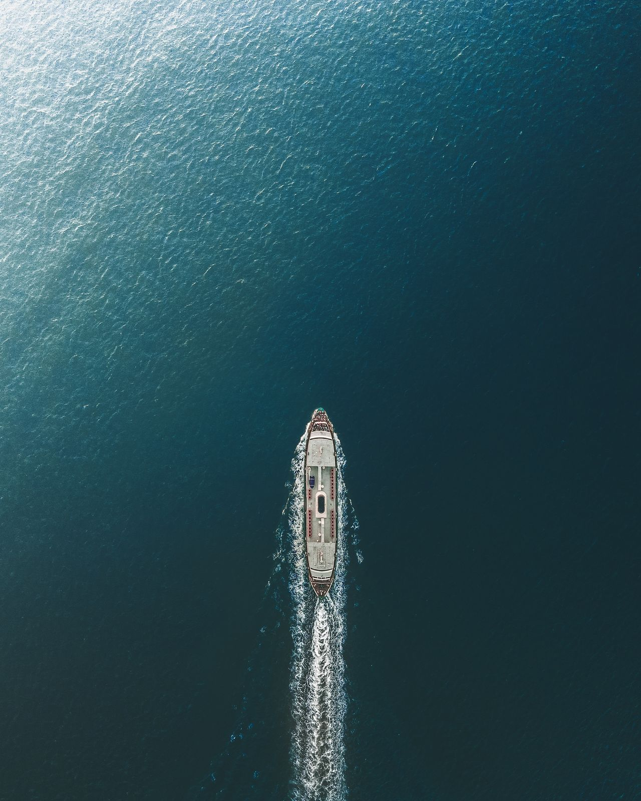 Focus on the journey not the destination. Drone  Aerial Photography Aerial View Nature Water Reflections Waterfront Looking Down From Above Travel Outdoors Minimal Calm Flying High