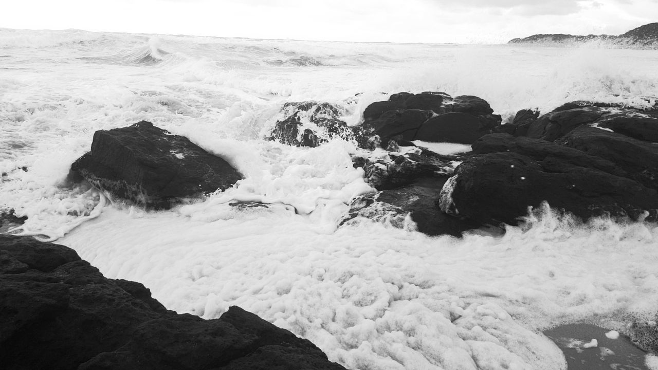 Margaret River after the storm Sea Beach Wave Nature Water No People Sand Outdoors Tide Beauty In Nature Scenics EyeEm Best Shots - Nature EyeEm New Here EyeEm Best Shots - Black + White