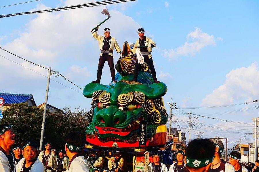 唐津くんち Saga,Japan 祭り(festival) In Japan Japanese Culture Karatsukunchi Matsuri People Green
