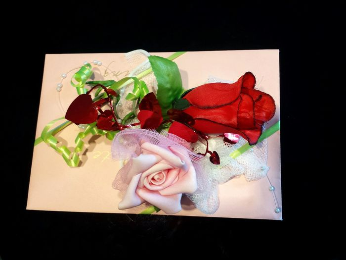 Pink Envelope Red Hearts Ladyphotographerofthemonth White Pearls Red Rose Pink Rose Artificial Roses Present Decoration Present Wrappings Wedding Decoration Present Wrapping Love Letter Wedding Present A Present Blumenzauber Flowers Pink Flower Showcase June
