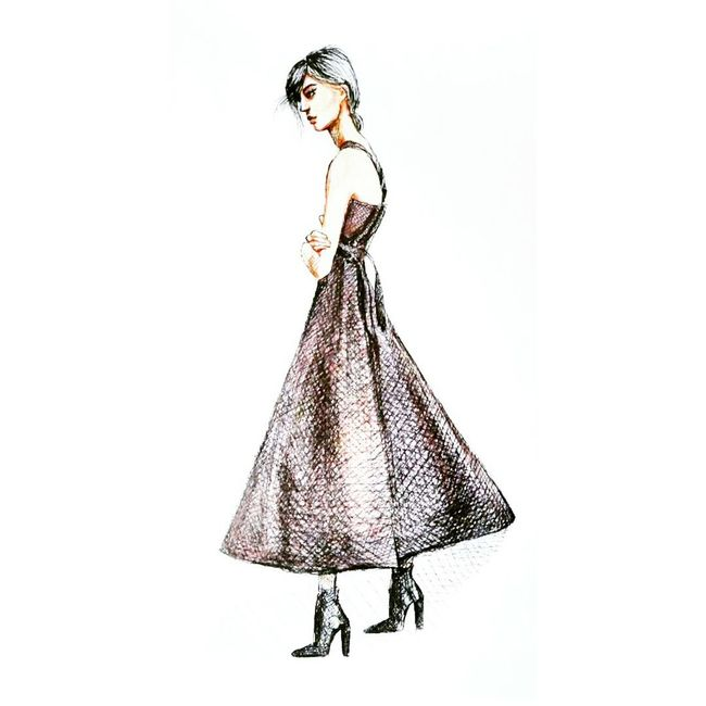 Quicksketch Drawing Fashionillustration ArtWork Picture Graphics