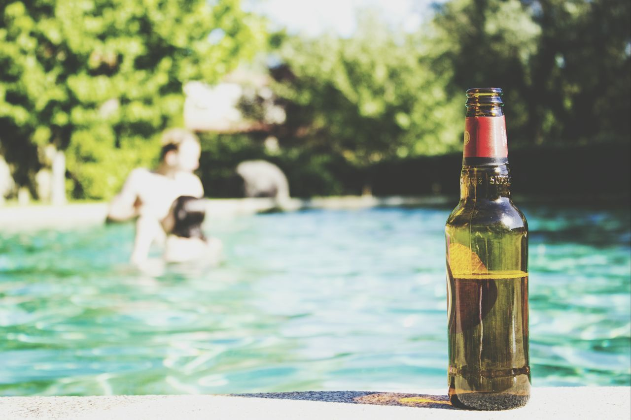 Beautiful stock photos of beer, Alcohol, At The Edge Of, Beer, Beer Bottle