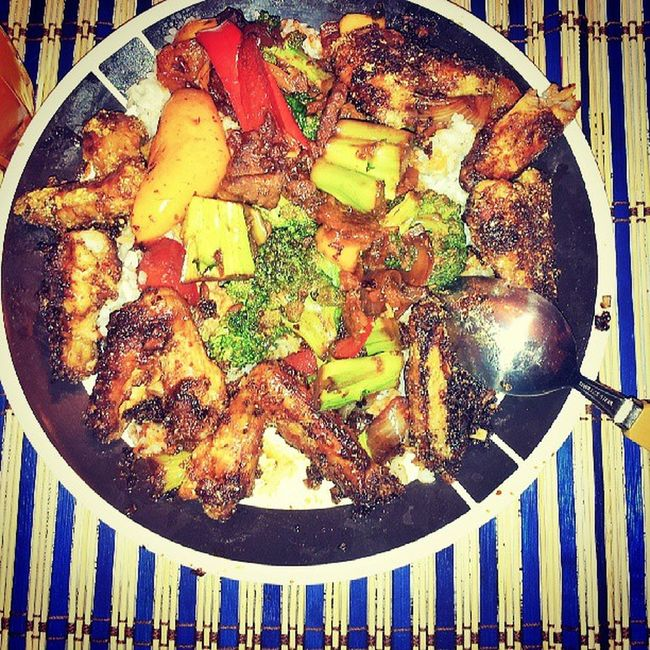 A late supper :D Home_cuisine Food Chinese Dad_chef tasty