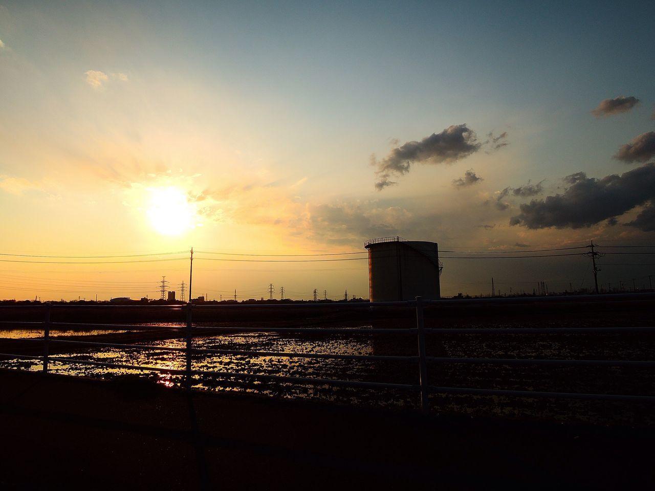おつかれさま。 Sunset NikonP330 夕暮れ時 Twilight おつかれさま
