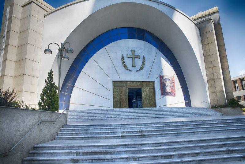 Albania Albanien, Church Monument Religion Religious Architecture Religious Art Tirana Albania