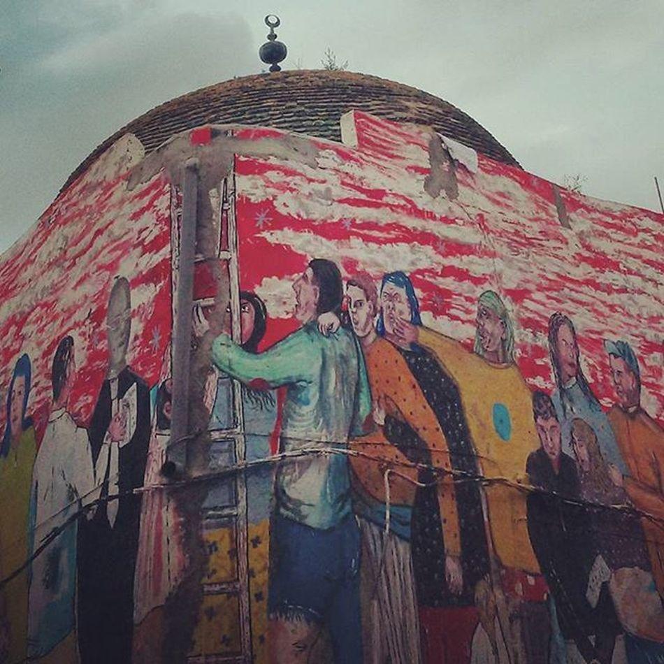 Street Art Graffiti Igertunisia Tunisia Painting ديما فما أمل ... :)