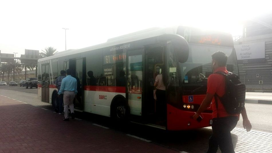 What The Bus? Public Transportation UAE , Dubai Commuting Running Late