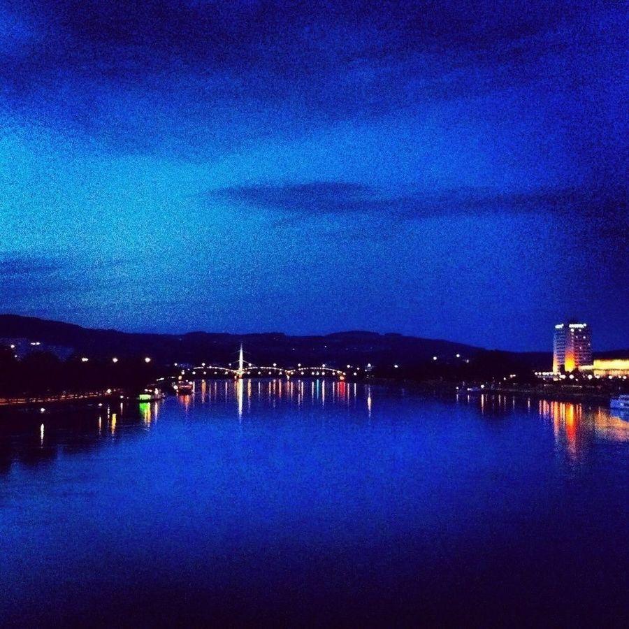 City Linz Steelcity Blue Danube