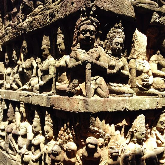Art Is Everywhere Sculpture Art And Craft WhenInCambodia Outdoors History Iphonesia