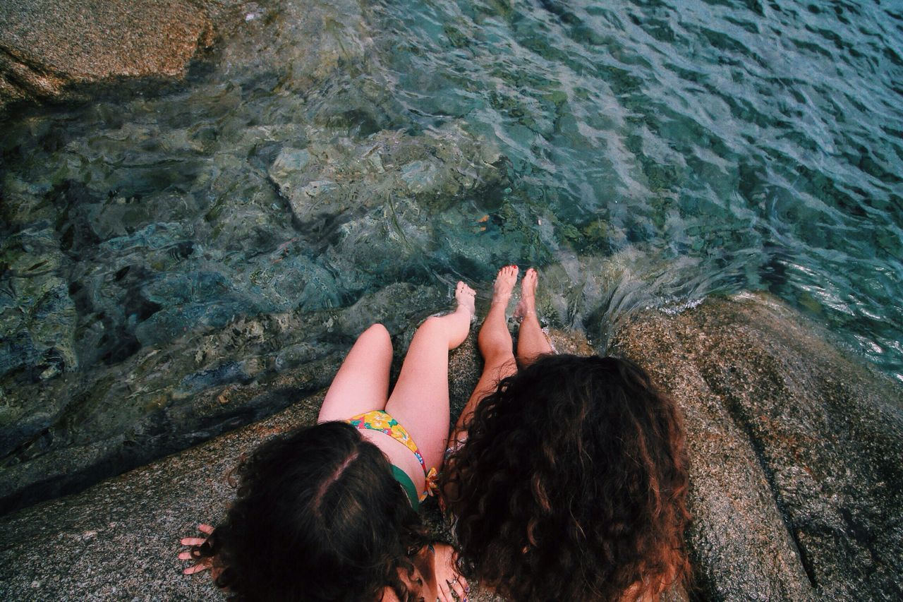 Beautiful stock photos of friends, Beauty In Nature, Day, Directly Above, Flowing Water