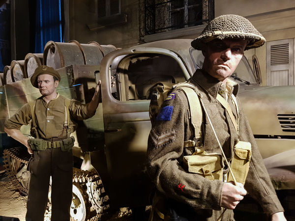 Overlord Museum, Colleville-sur-mer, Normandy, France, July 2017 D-Day Operation Overlord Overlord Museum Soldiers Education Exhibition Exhibits History Looking At Camera Museum Overlord Transportation Your Ticket To Europe The Week On EyeEm