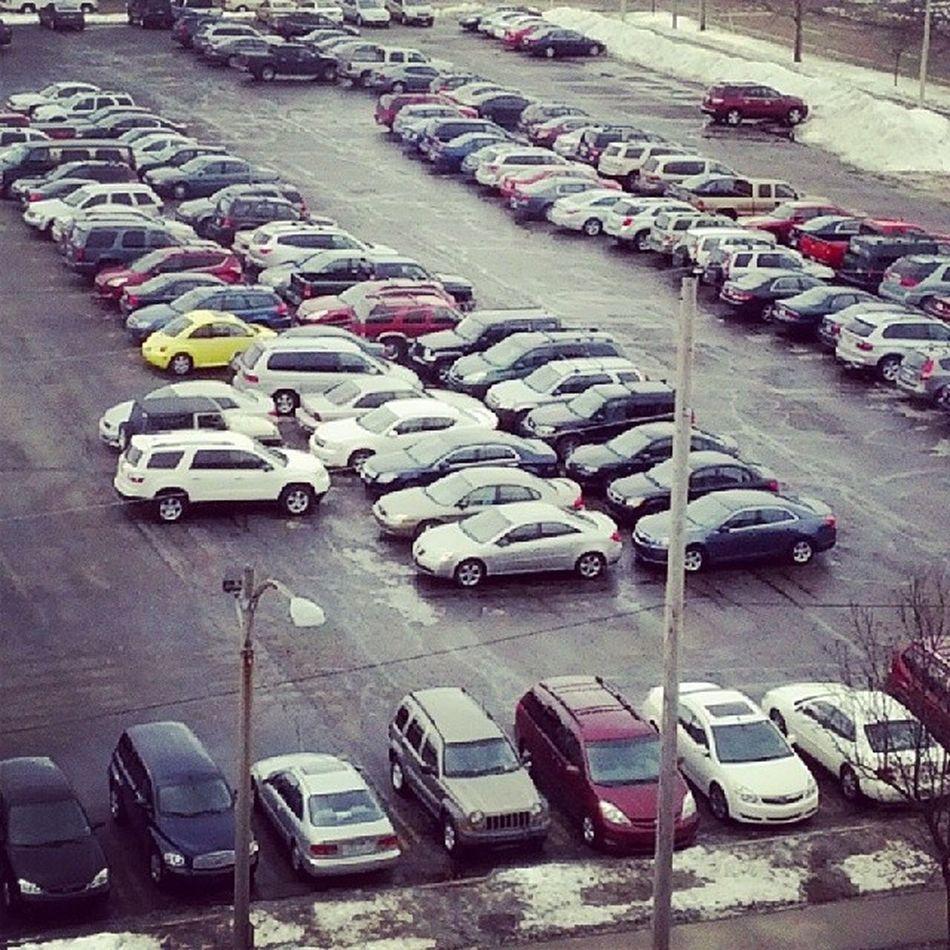 Hmmm... Fridays Geniuses Parking Oops