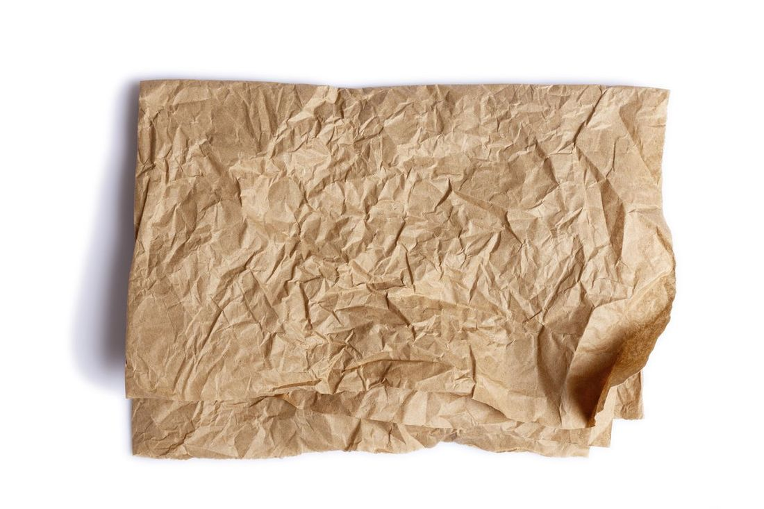 Brown Paper Close-up Crumpled Crumpled Paper Cut Out Isolate Isolated Isolated On White Isolated White Background No People Note Pad Paper Studio Shot Textured  White Background
