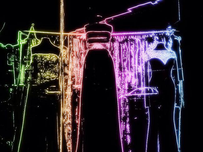 Toy Camera Neon Dresses Disco