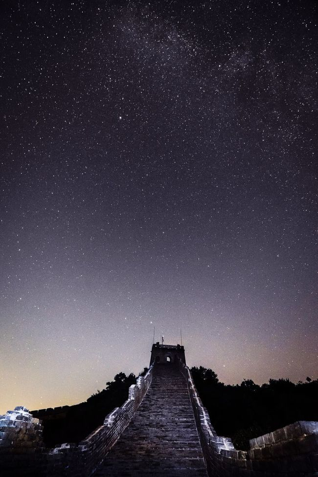 Sohochina FUJIFILM X-T1 Nightphotography Fujifilm Beijing China Landscapes Commune By The Great Wall Great Wall Of China