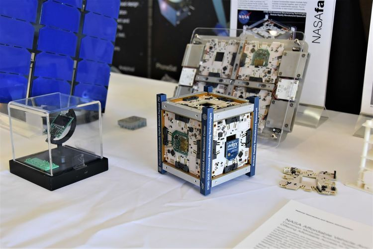 CubeSat Day Indoors  Innovations Nanosatellites No People Space Space Exploration Technology
