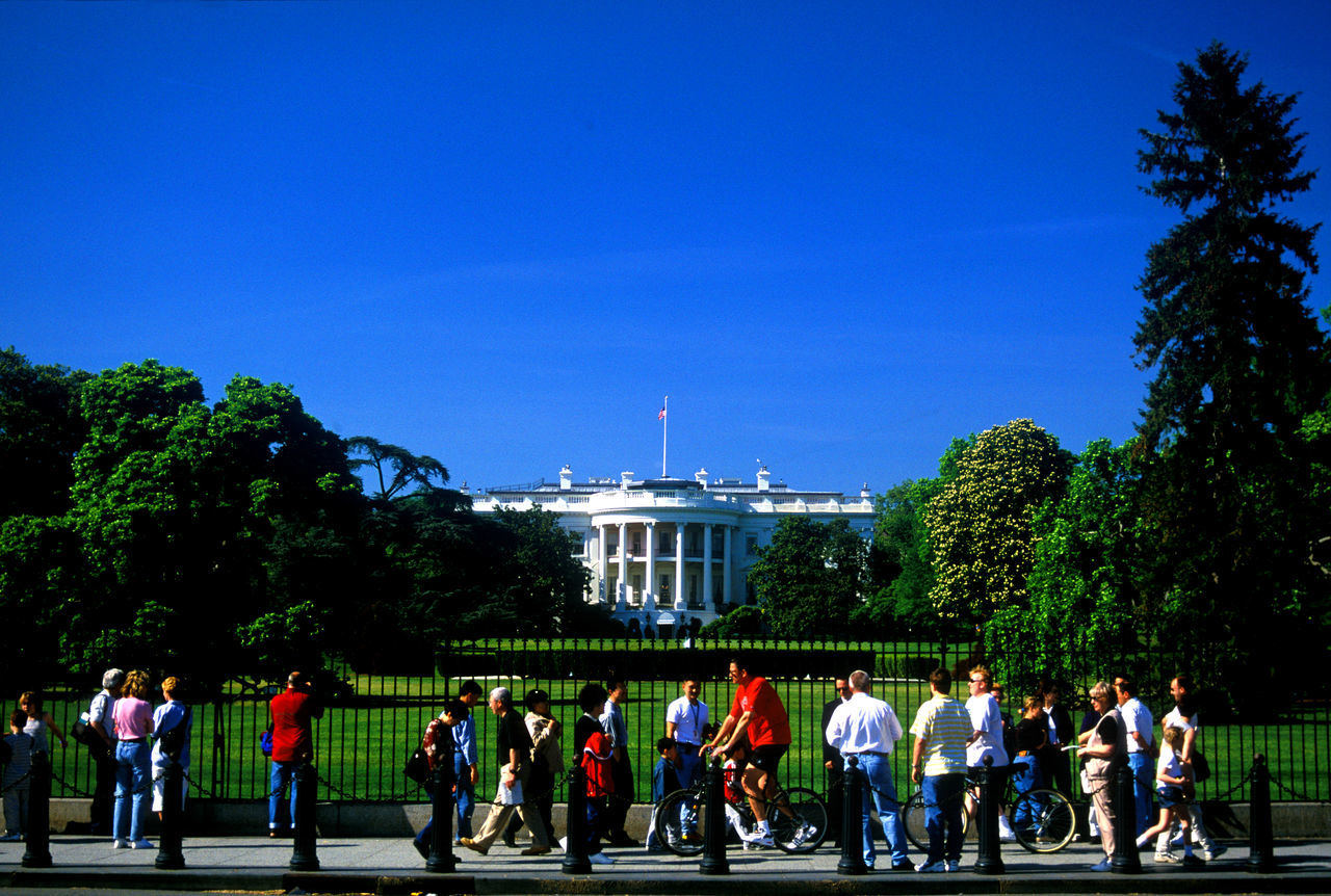 Beautiful stock photos of white house, American Flag, Architecture, Authority, Blue