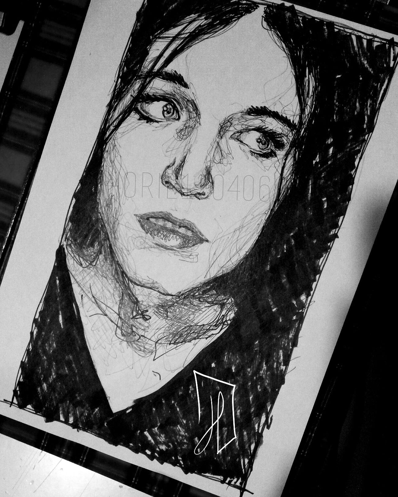 Qualcosa. — Doodleart Doodles Sketchy Sketches Artistic Work In Progress Sketching Artist ArtWork Music Portrait Art, Drawing, Creativity Sketchbook Doodle Doodling Sketch Art Wip Blackandwhite Paper Pen Markers  Brianmolko Placebo