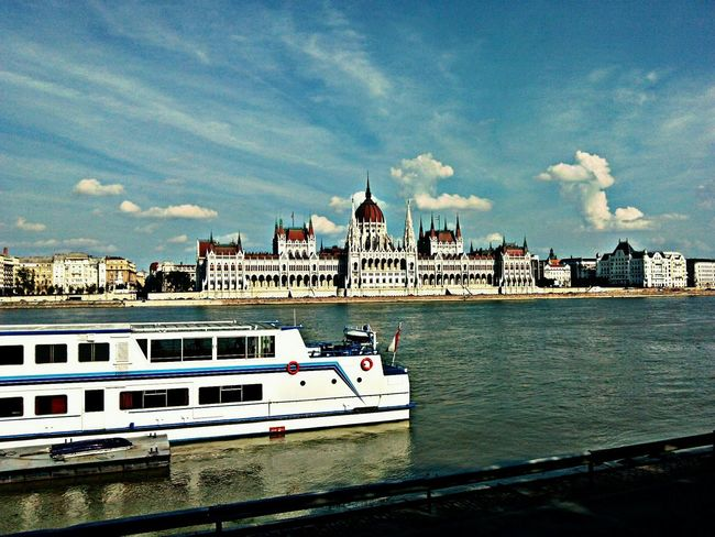 Check This Out Eyeemphotography EyeEm Best Shots Popular Photos EyeEm Gallery EyeEmBestPics Across The River River Danube House Of Parliament Seeing The Sights