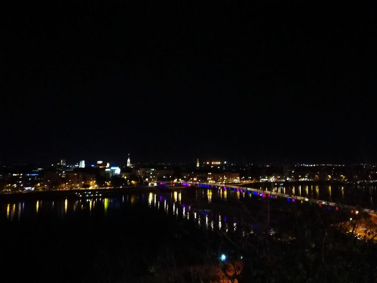 Night Reflection Illuminated City Travel Destinations Sky Outdoors Water Cityscape Romantic❤ P9 Huawei No Filter, No Edit, Just Photography Novi Sad Serbia Leicacamera Love This City ❤ BePresent P9photography Oo City View  Architecture