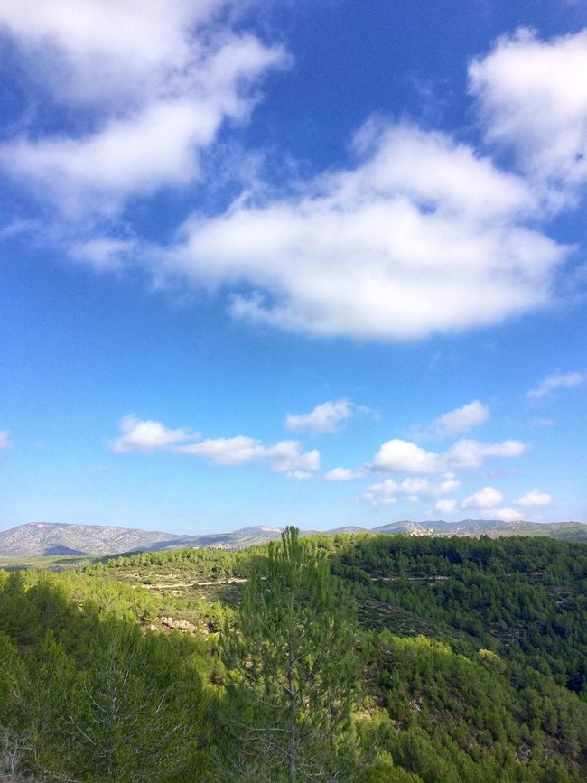 Light And Shadow SPAIN España Sunshine Sky And Clouds Clouds And Sky Garraf Greenery Landscape IPhoneography