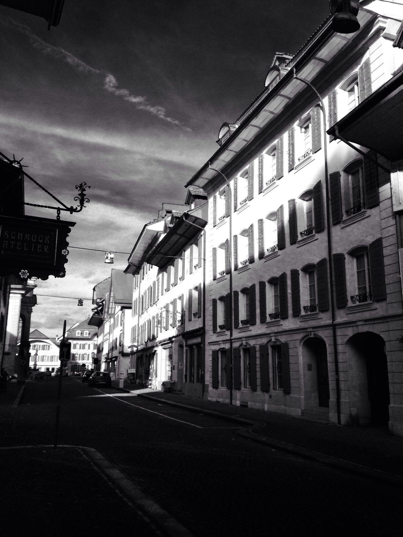 Architecture Streetphotography Monochrome Zofingen