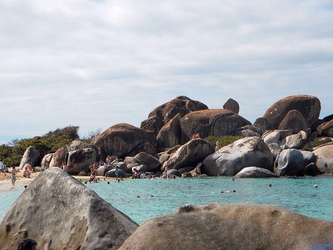 British Virgin Islands Virgin Gorda The Baths Rocky Beach At The Beach Landscapes With WhiteWall