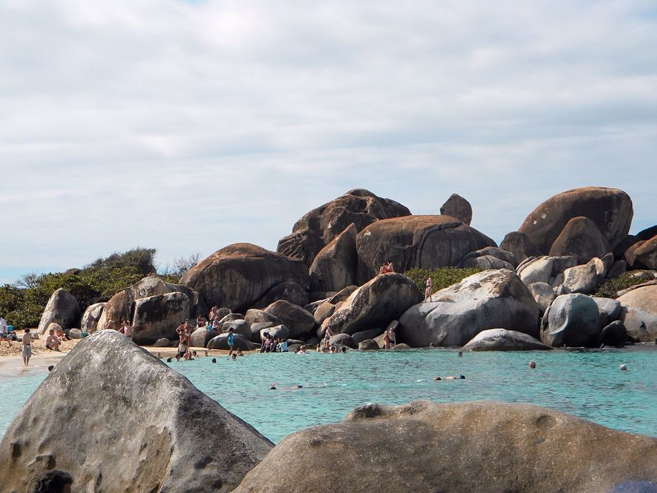 British Virgin Islands Virgin Gorda The Baths Rocky Beach At The Beach Landscapes With WhiteWall